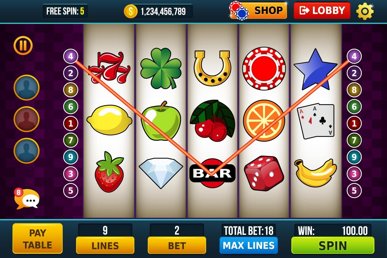 vibrant 7's slot machine online